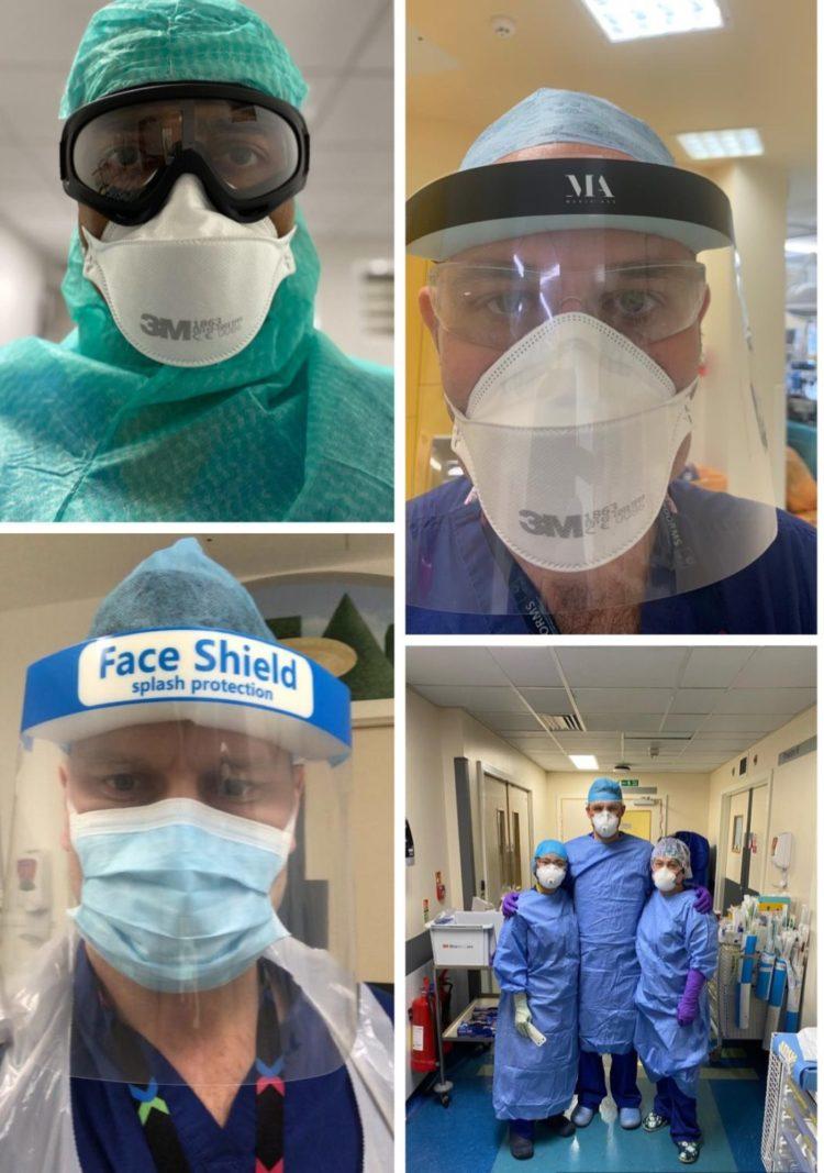 Surgeons in Coronavirus PPE